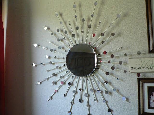 Winners Of The Pinterest Inspired Challenge Starburst Mirror