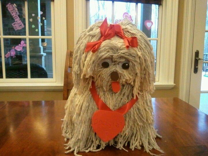 Puppy christmas gift box