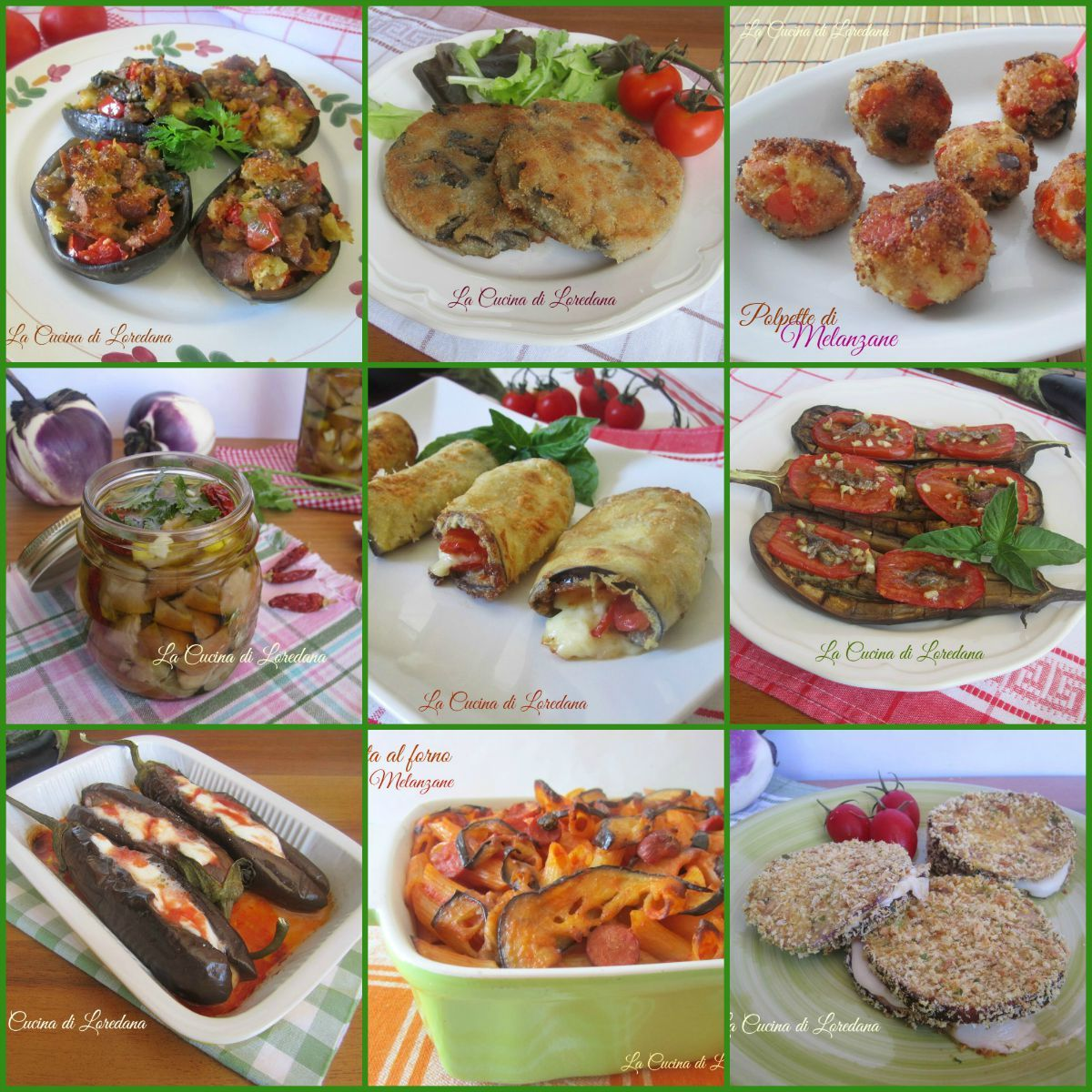 Ricette con le melanzane la cucina di loredanala cucina di loredana recetas food ethnic - Loredana in cucina ...
