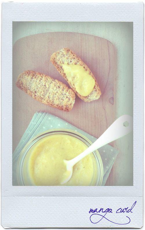 mango curd. #mango #curd