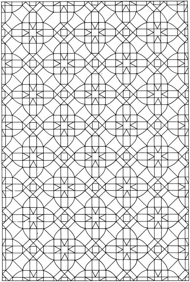 creative haven mosaic tile designs dover publications samples