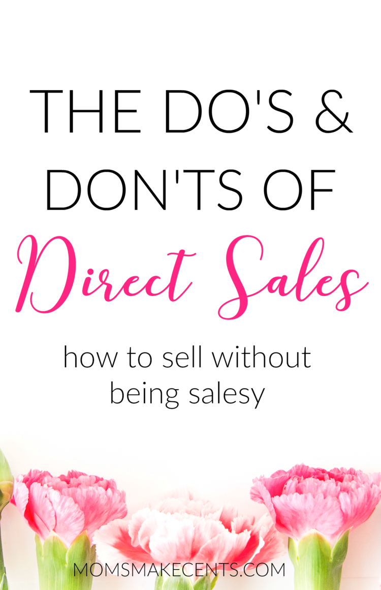 The Do\'s & Don\'ts of Direct Sales | Pinterest | Direct sales ...