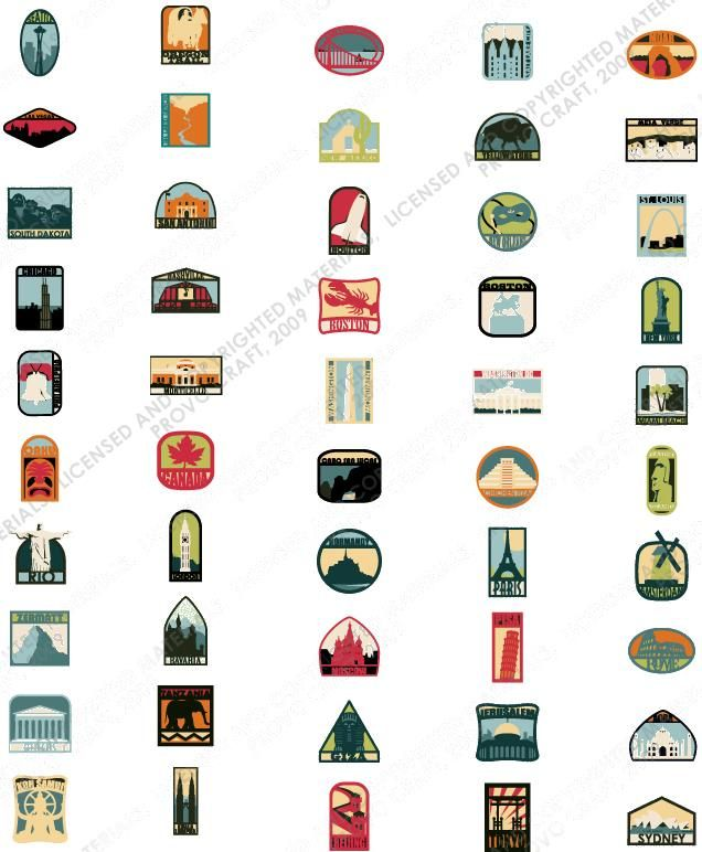 Sealed Cricut Shapes DESTINATIONS Cartridge  Brand New