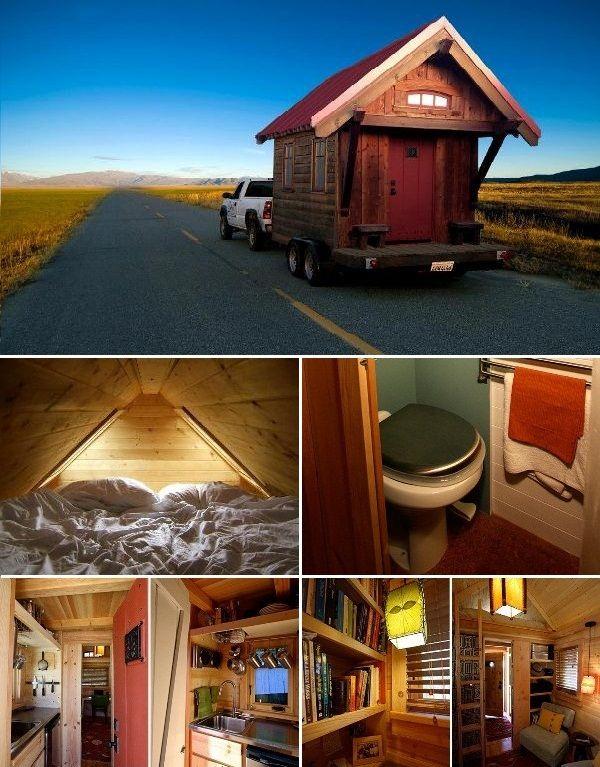 Amazing Tiny House on Wheels | Cabin fever:) | Pinterest | Tiny ...