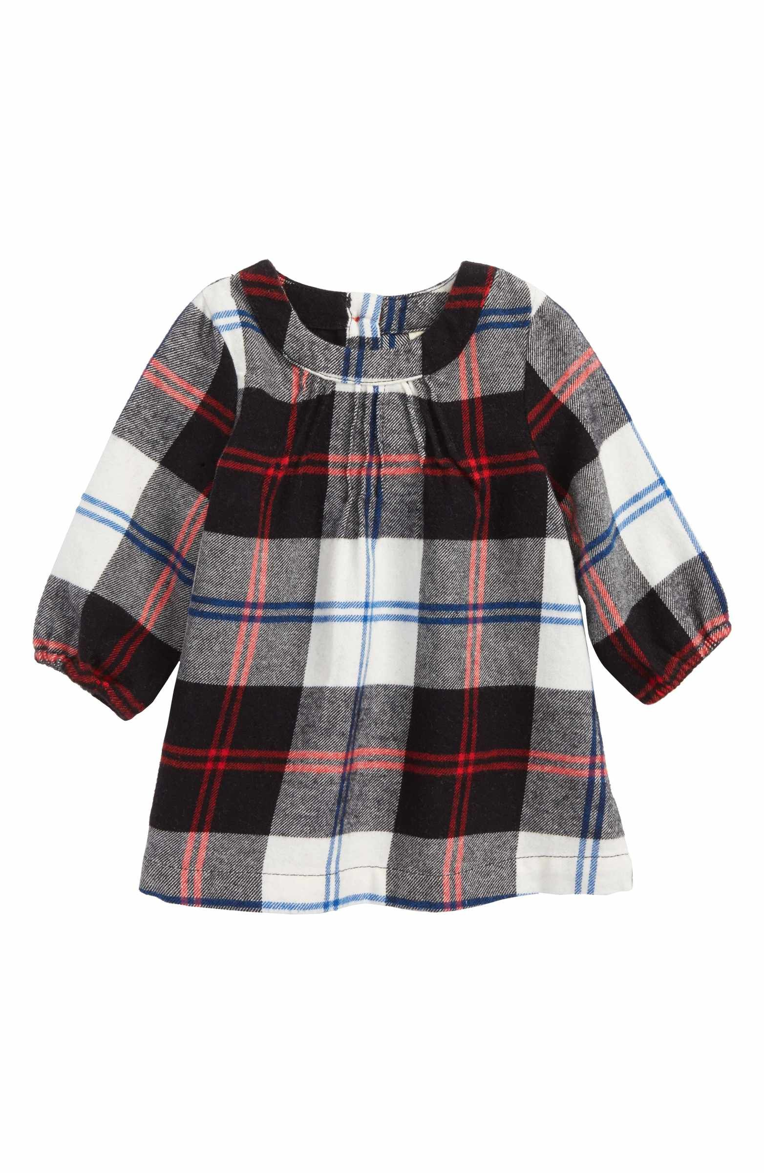 8742b9bff2a7 Main Image - Tucker + Tate Holiday Flannel Dress (Baby Girls)