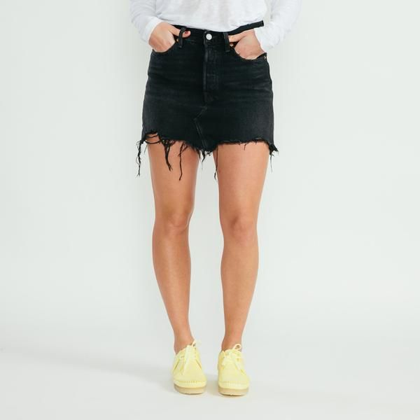 141cfc090 Levi's Deconstructed Ill Fated Black Skirt   Dresses & Skirts in ...