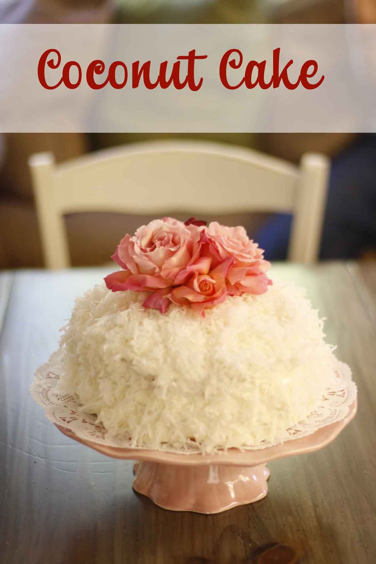 Coconut Cake from Bon Appetite Magazine. TO DIE FOR.
