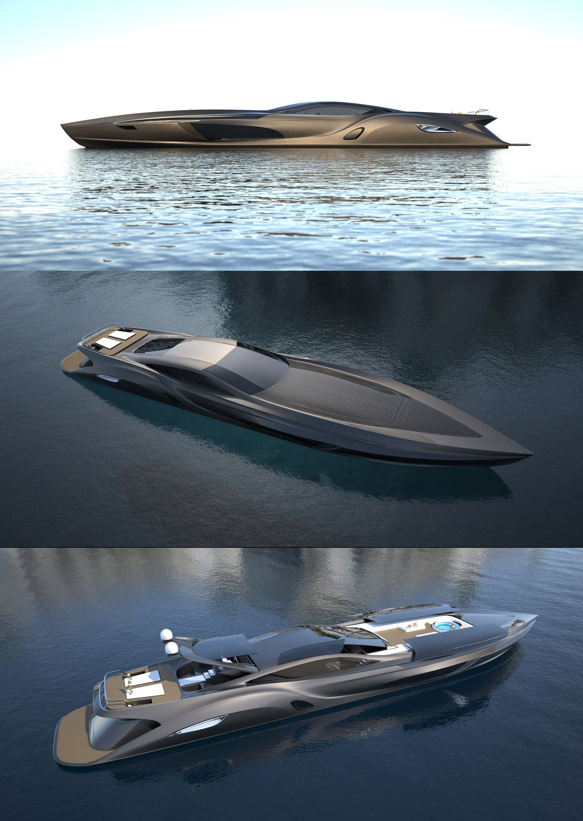 Strand craft 166 yacht designed by gray design