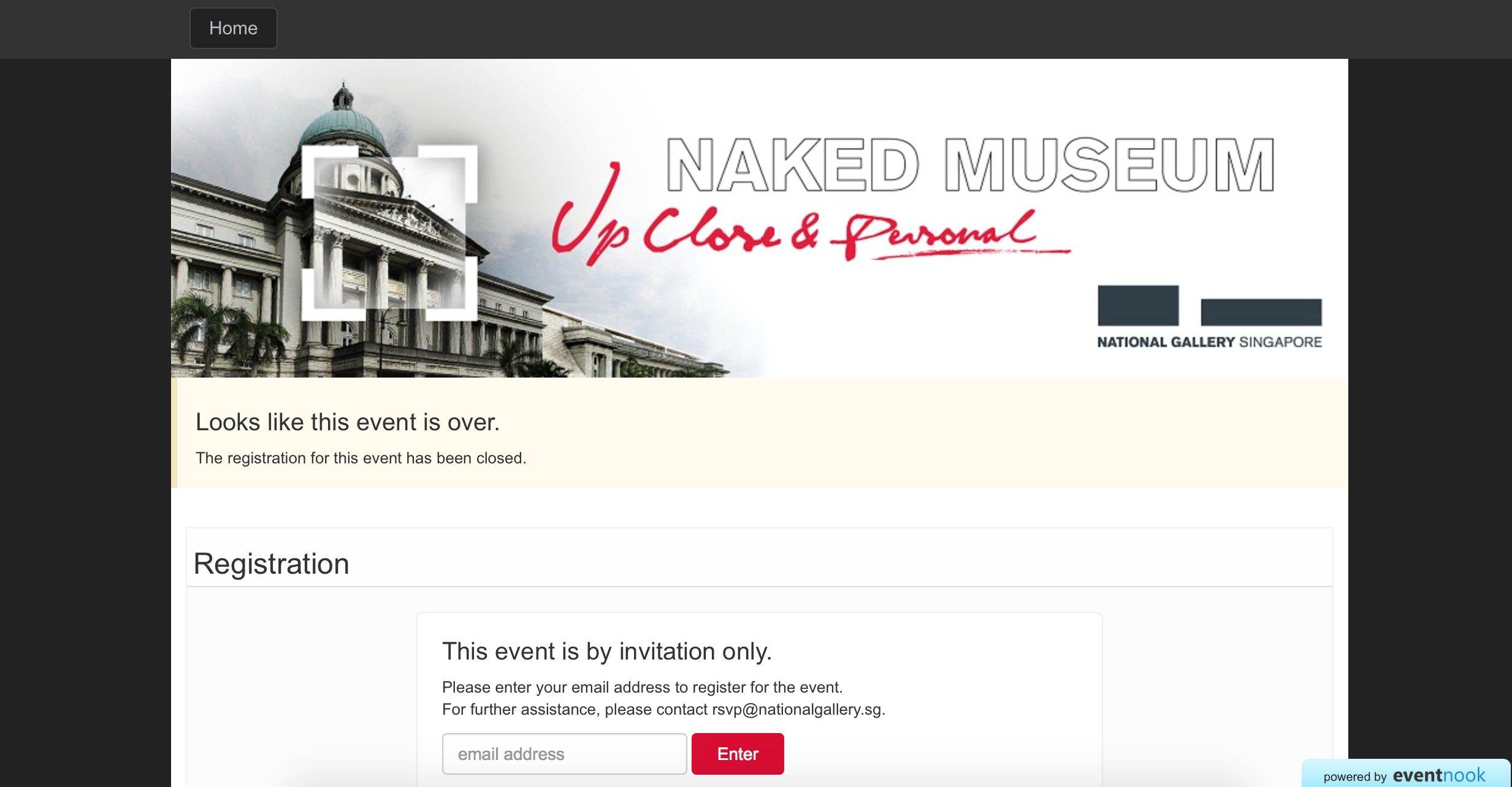 Naked Museum Guided Tour 2015