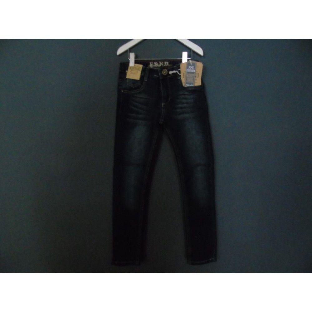 E-BOUND spijkerbroek vanaf maat 128. Slimfit.