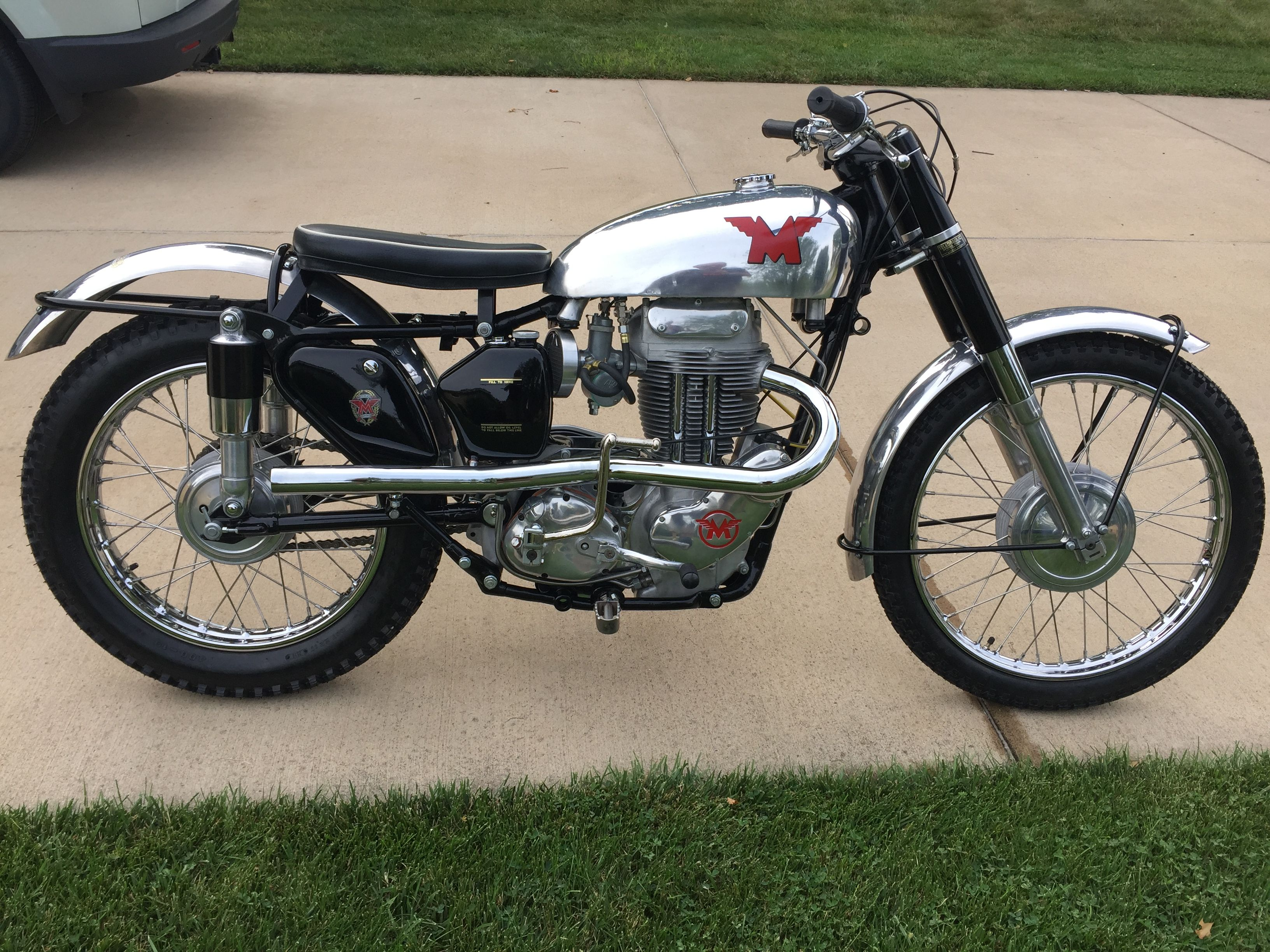 1955 Matchless G80CS