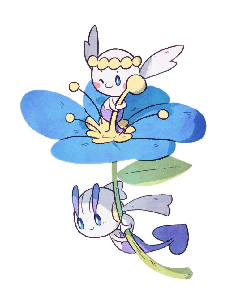 flabebe pokemon shiny - 736×944
