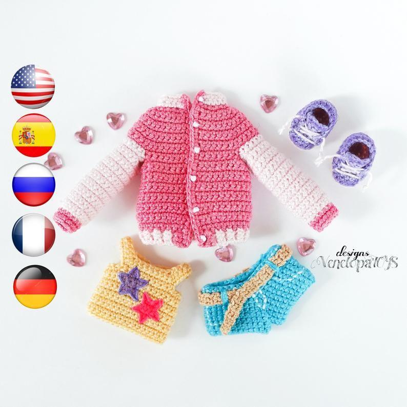 Örgü Oyuncak Bebek Elbiseleri - El Sanatları ve Hobi | 794x794