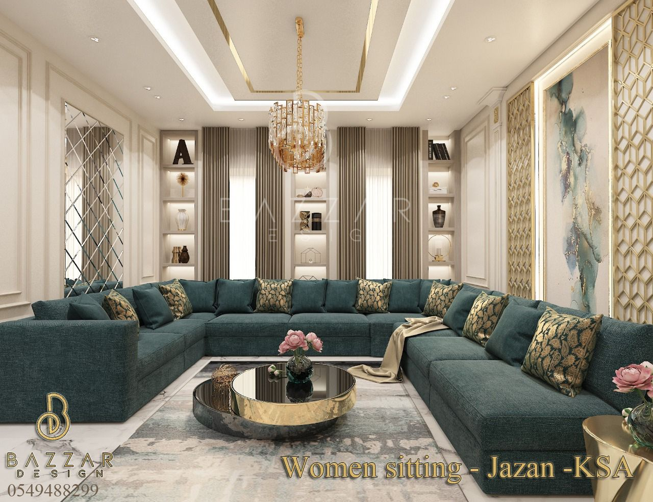 ديكورات مجالس نساء فخمة Interior Design Dining Room Home Design Living Room Living Room Decor Cozy