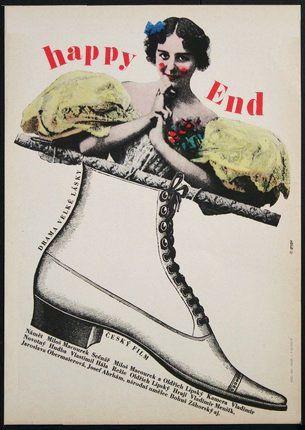 HAPPY END.   HAPPY END. 1967. Autor: MILAN GRYGAR.   Antikvariát PRAŽSKÝ ALMANACH w w w . a r t b o o k . c z