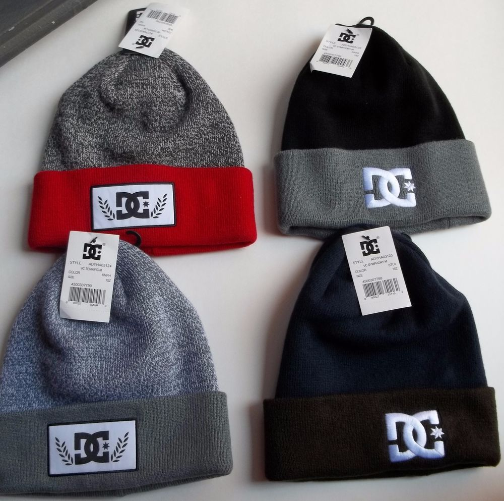880143db01d NEW Winter Hats For Men DC Shoes Beanies Skater Sports Caps Best Christmas  Gifts  DCShoes  Beanie