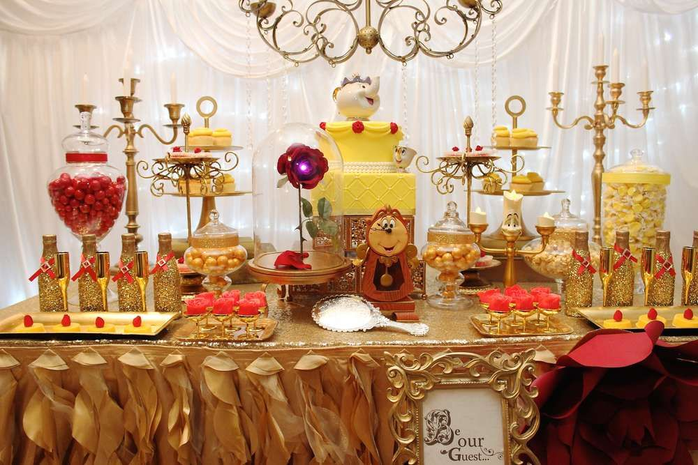 Belle Birthday Decorations Belle  Beauty And The Beast Birthday Party Ideas  Birthday Party