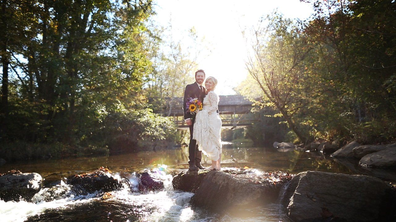 Kelly clarkson and brandon blackstocks wedding video