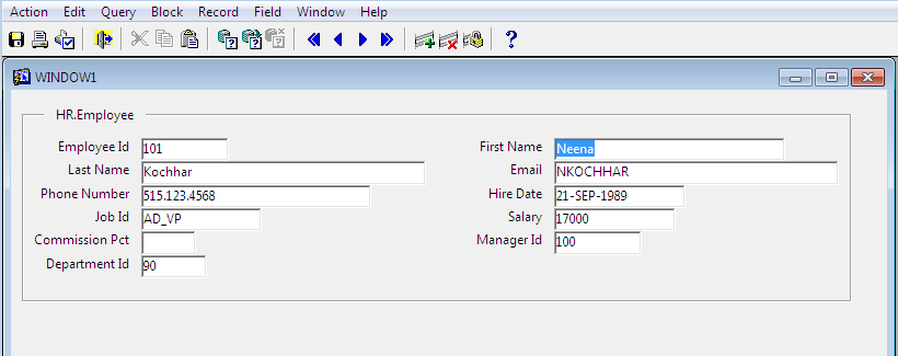 If Value Exists Then Query Else Allow Create New in Oracle Forms An