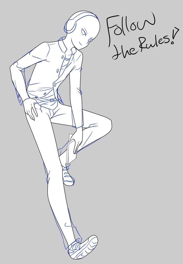 Cool Pose Base By Https Www Deviantart Com Baseexmachina On Deviantart Anime Poses Reference Anime Boy Sketch Anime Poses