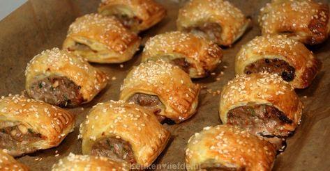 Mini worstenbroodjes - KeukenLiefde