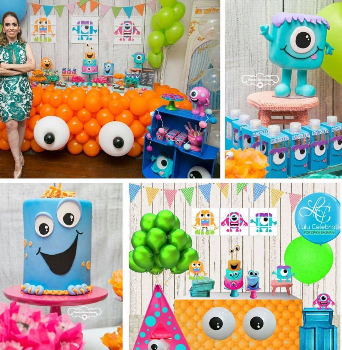 Fiesta Jonaz Monster 1st Birthdays Halloween First Birthday Monster Birthday Parties