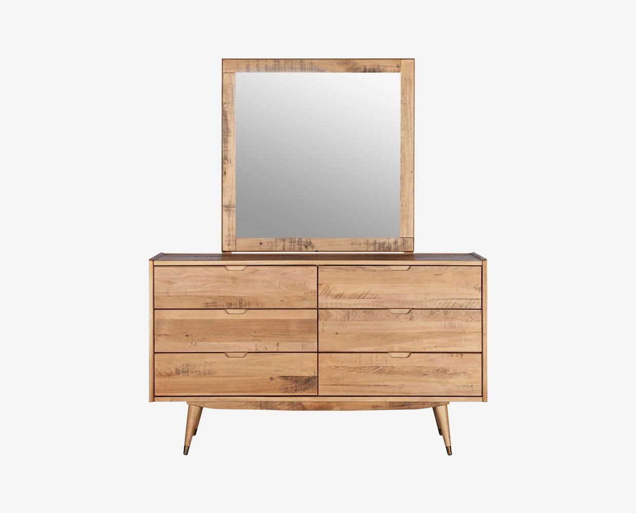 Bolig Mirror Double Dresser Scandinavian Style Bedroom Scandinavian Design