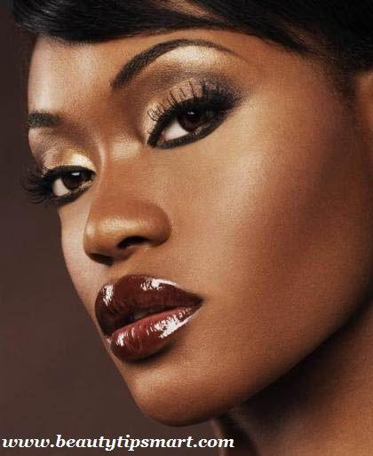 Gallery For Eye Makeup For Brown Eyes Dark Skin   Makeup   Pinterest