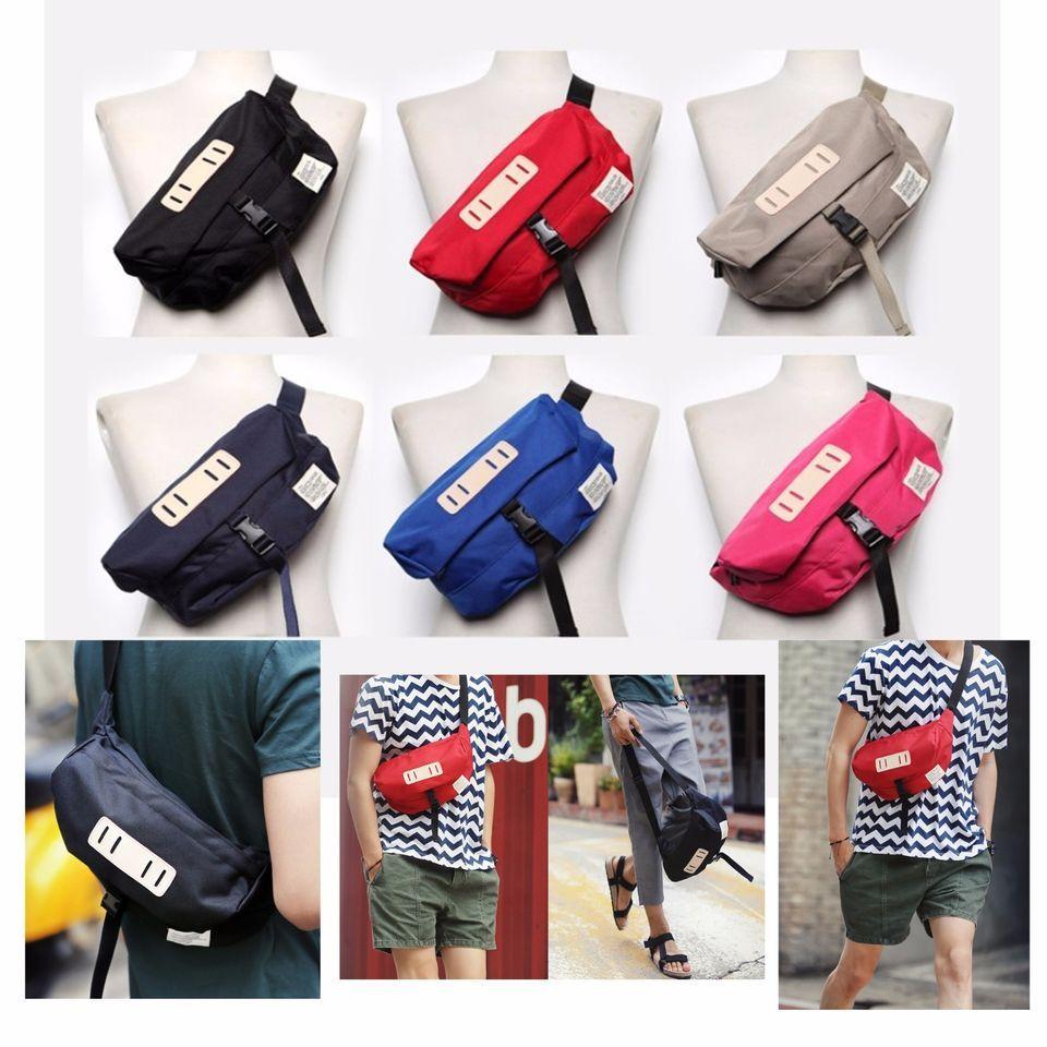 Korea Fanny Waist Pack Cross Shoulder Bag COVER Hip Sack Hipsack ...