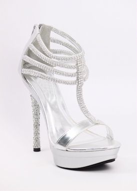 b68612f48ec Silver wedding shoes at http   www.shopzoey.com Silver-