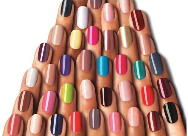 Uñas de colores!