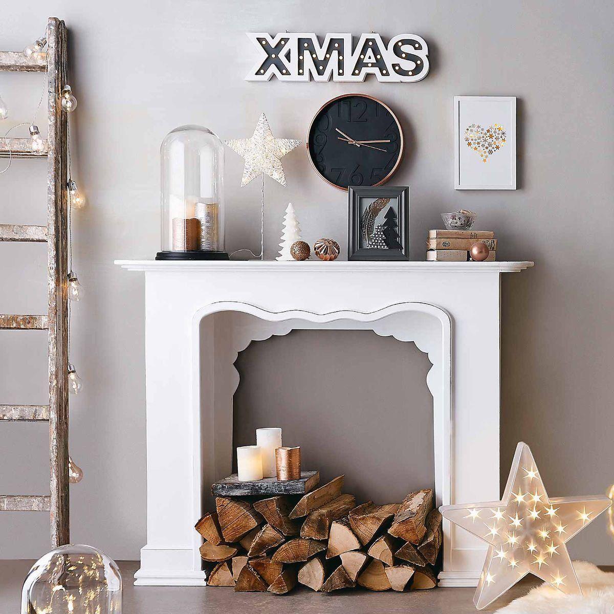 Kaminkonsole,130x30x100cm, weiß 1000 in 2020 Fireplace