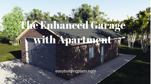 The Enhanced Garage With Apartment Plans Download Immediately From Https Easybuildingplans Com Basic A Frame A Frame Cabin Garage Apartments Small House