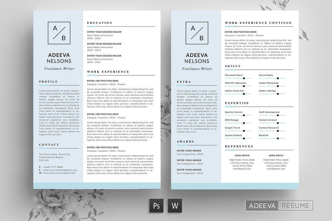 30+ Best CV & Resume Templates 2019 Simple resume