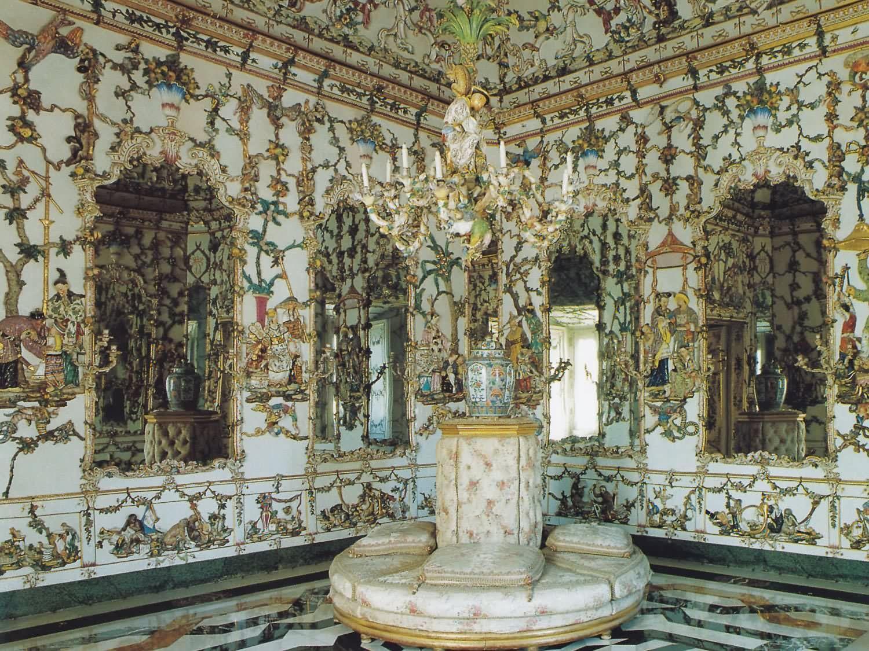 Salon de porcelana palacio real de aranjuez todo - Suelos de porcelana ...