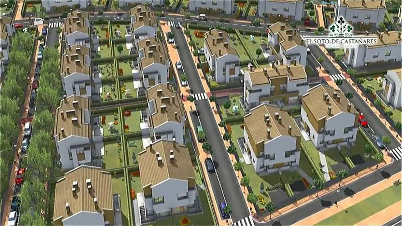 Animación de exterior de Urbanización El Soto de Castañares