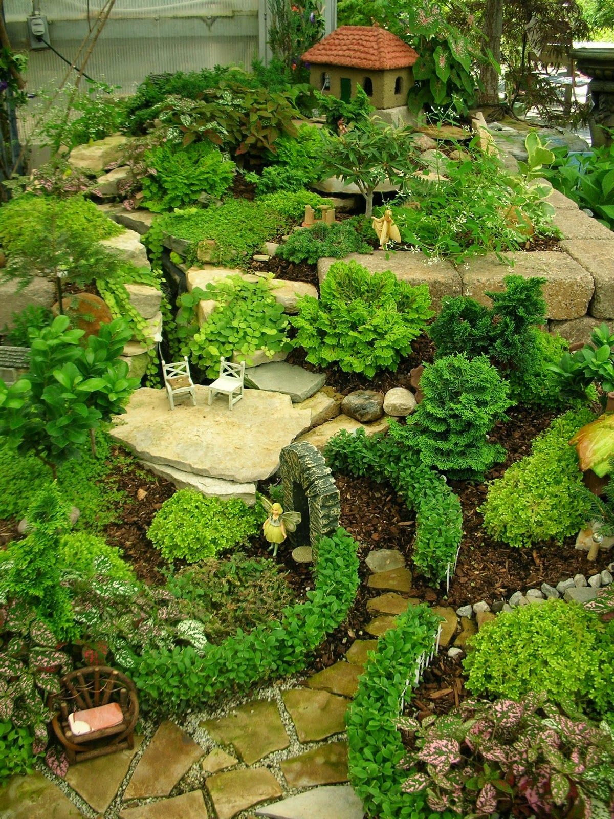 Gnome Garden: Garden Thyme With The Creative Gardener: Creative Fairy