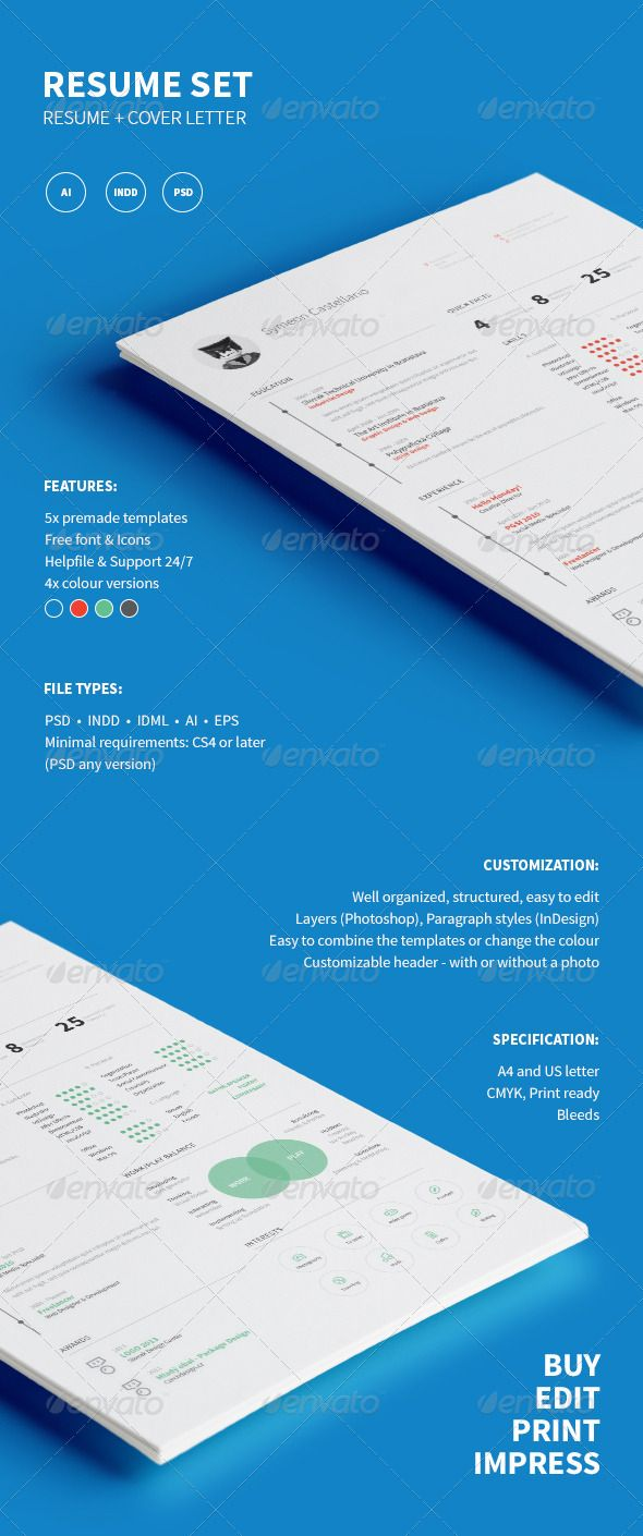 Resume | Pinterest | Template, Cv template and Resume cv