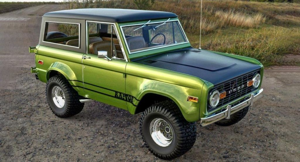 A Classic Ford Bronco Raptor Build Sounds Like An Awesome Idea Dont You Think What If Ford Offered The Original Bro In 2020 Classic Ford Broncos Ford Bronco Bronco
