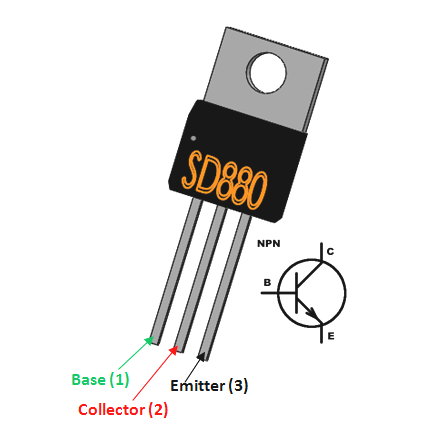 D880 Transistor Pinout Transistors Electronics Projects Electrical Engineering