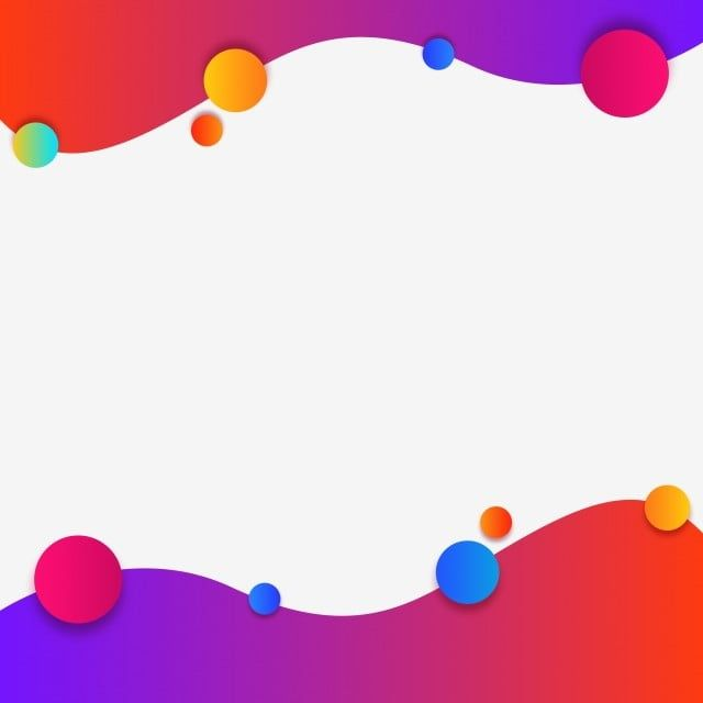 Creative Wavy Frame With Geometric Colorful Shapes Vector Vector And Png Powerpoint Design Templates Geometric Background Template Design