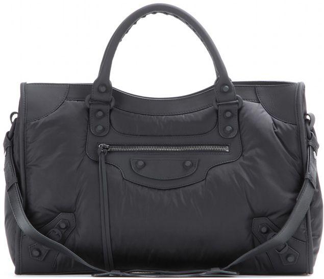 75b47014a BALENCIAGA Puffy Nylon Fabric Giant City | Bags ♥ in 2019 | Nylon bag,  Balenciaga, Bags