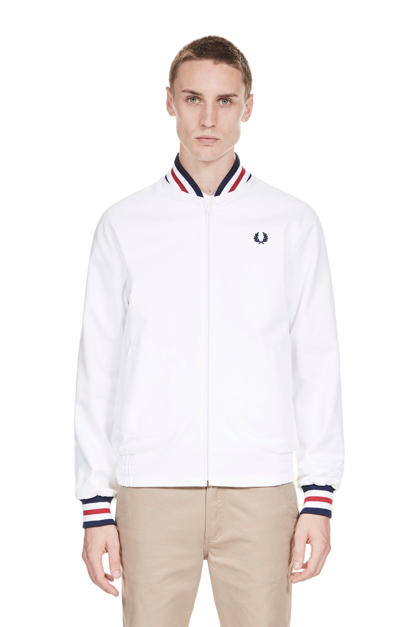 3c922b3d3 Fred Perry - Reissues Made in England Original Tennis Bomber White ...