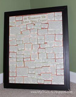 My Gra 8 Life: Neat Sentimental Gift for Grandparent - \