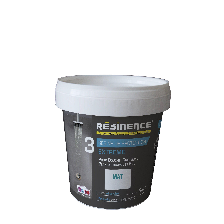Resine De Finition Mur Sol Et Carrelage Resinence Incolore Mat 0 3 L En 2020 Finitions Mur Resine Et Carrelage