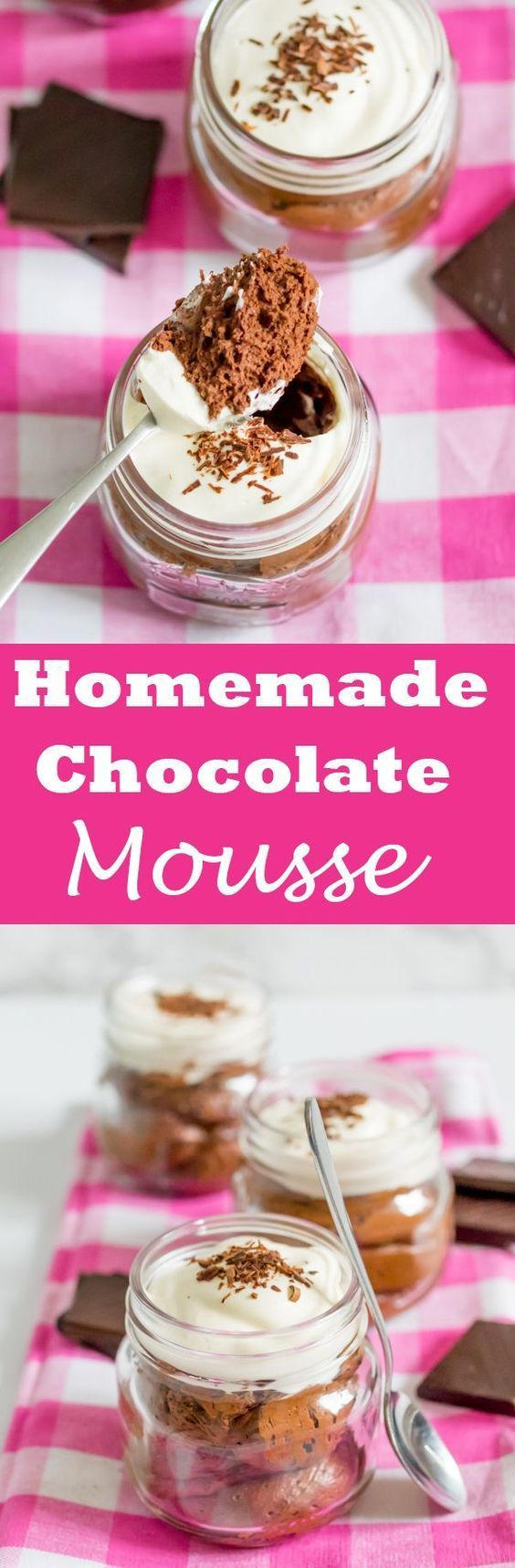 Chocolate Mousse | A rich and luxurious chocolate mousse, topped with whipped cream and chocolate shavings. - -