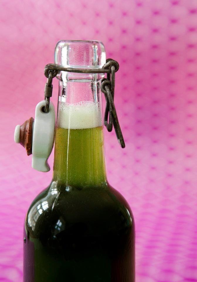 Minty Soda. Nyd Dig Sund - Raw Snacks. Foto Camilla Hey