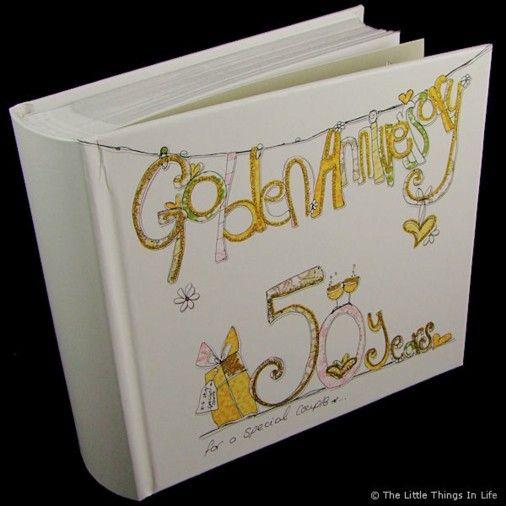Tracey Russell 50th Wedding Anniversary Photo Album - £19