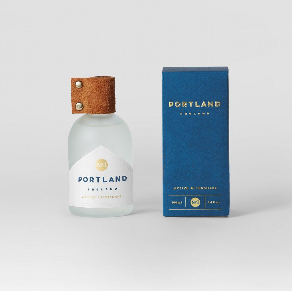 Portland England Active Aftershave | Son of a Stag