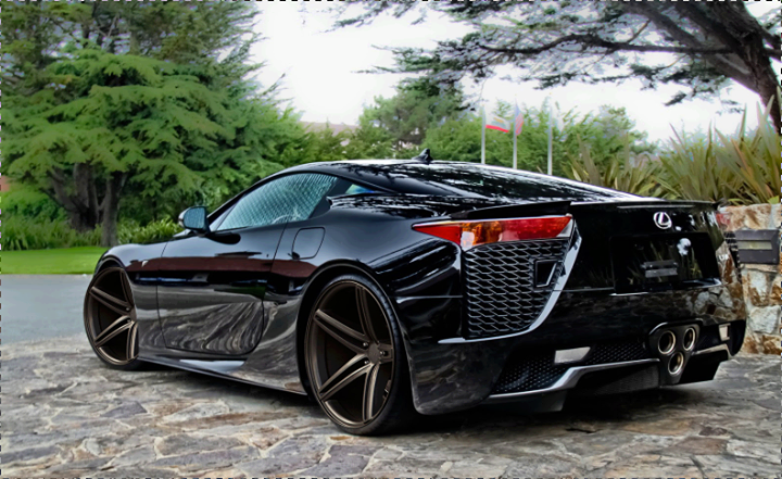 The Lexus Lfa A Two Seat Supercar From It Is Second Model In F Marque Line Of Performance Vehicles Following After